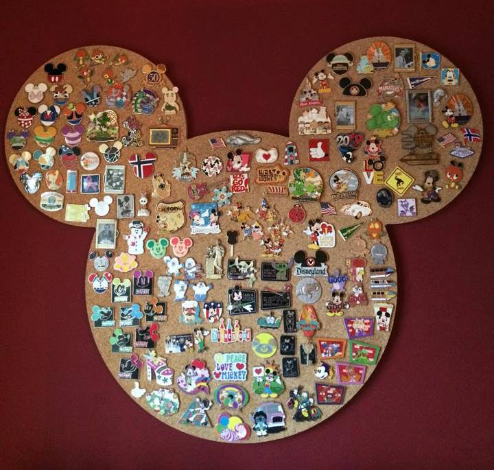 unique cork boards pin collecting boards disney pin boards