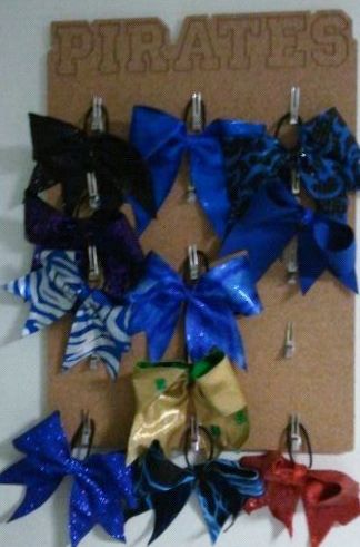 Cheer And Dance Cork Boards Cheer Bow Displays Cheer Bows