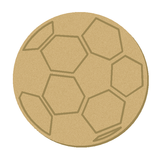 soccer ball cork board